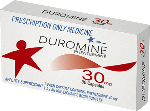 Duromine Phentermine prescription tablets photo