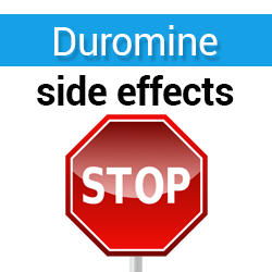dangers of duromine side effects
