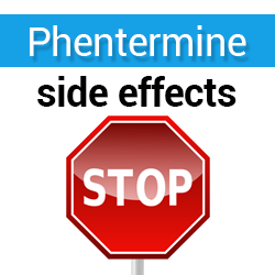 attention, Phentermine side effects